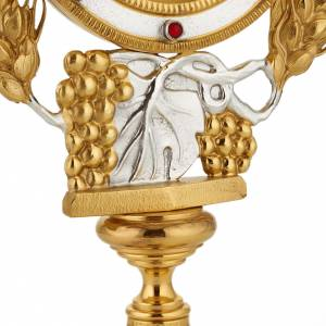 Monstrance with grapes and ears of wheat s3