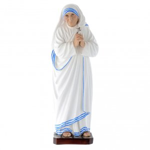 Holy Statues in resin & PVC: Mother Terese of Calcutta statue 40 cm fiberglass