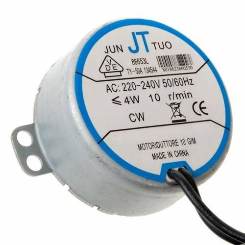 Motorino elettrico per presepe fai da te 4W 10 giri/min 1