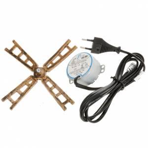 Pompes à eau et moteurs pour crèche de noel: Moulin à vent pour crèche: pale et moteur 3W