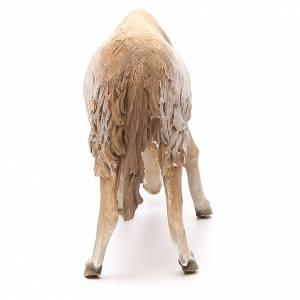 Mouton qui broute 30 cm crèche Angela Tripi s3