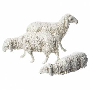 Crèche Moranduzzo: Moutons crèche Moranduzzo 10cm, 3 pcs