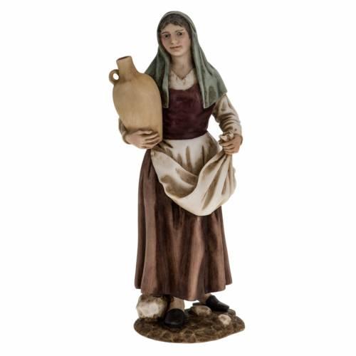 Mujer con ánfora pesebre 18 cm Landi s1