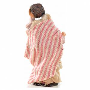 Mujer con barril 6 cm. belén Napolitano estilo ára s2