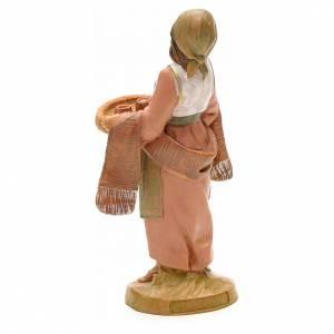 Mujer con tazas 12 cm Fontanini s4