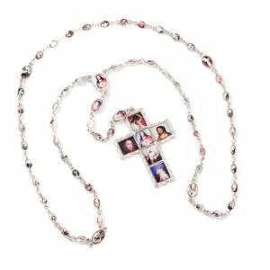 Multi-image metal rosary s1