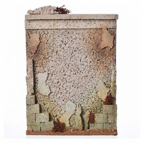 Mur d'enceinte en liège crèche s4