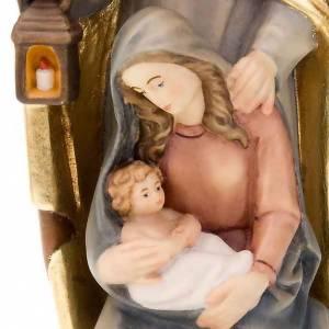 Nativité en bois naturel, peint à la main s4