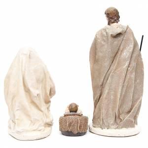 Nativité résine 31 cm fin. Multi Gold s3