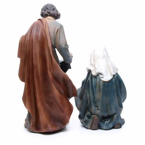 Nativité résine 50 cm set 3 pcs s3