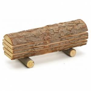 Moos, Trees, Palm trees, Floorings: Nativity accessory, cut wood trunk
