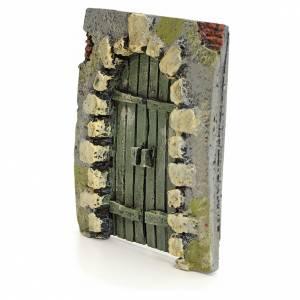 Balustrade, doors, railings: Nativity accessory, door in the rocks 11x10cm