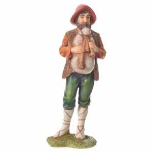 Nativity figurine, bagpiper, 30cm resin s4