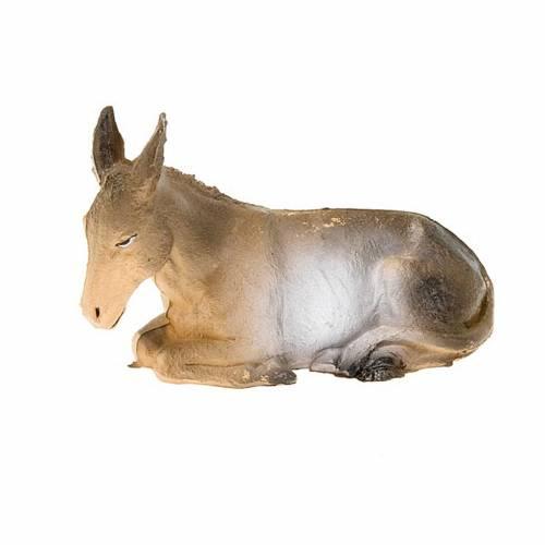 Nativity figurine, sitting donkey 13cm  s1