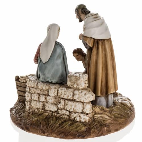 Nativity on base by Landi, 16 cm s6