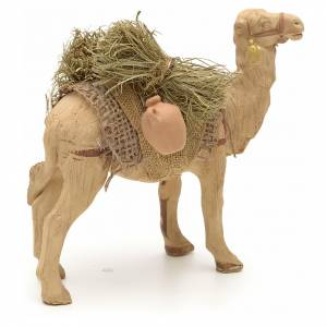 Nativity scene accessory, Camel standing up with harness 10 cm s4