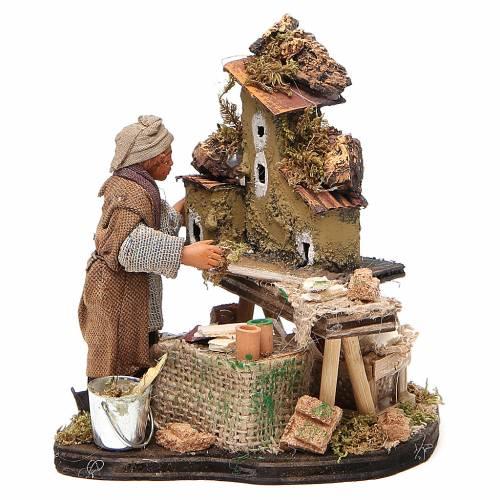 Nativity scene artist, Neapolitan nativity figurine 10cm s1