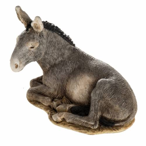 Nativity scene figurine, donkey, 11cm by Landi s1