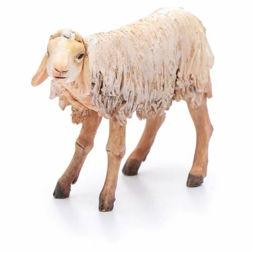 Nativity scene figurine, standing sheep 18cm, Angela Tripi s4