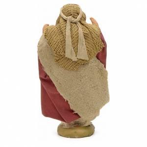 Neapolitan Nativity Scene: Nativity set accessory The astonished 10 cm figurine