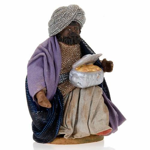 Nativity ser Three wise Kings 10 cm clay figurines s3