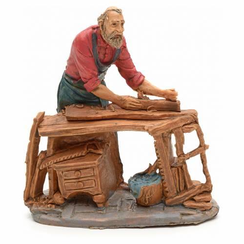 Nativity set accessory, Carpenter figurine s1