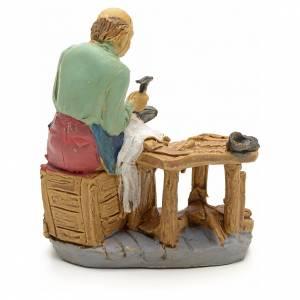 Nativity set accessory, Cobbler figurine 10cm s2