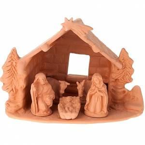 Nativity set complete clay 10 cm s1