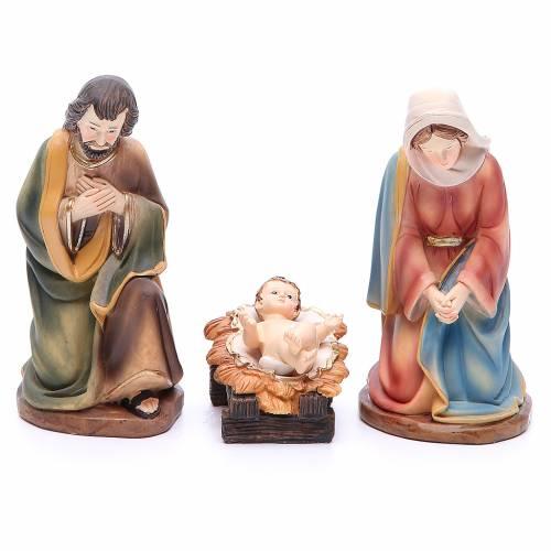Nativity set in resin, 11 figurines measuring 19.5cm s2