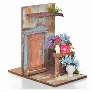 Nativity setting, florist's workshop 15x9,5x9,5cm s2