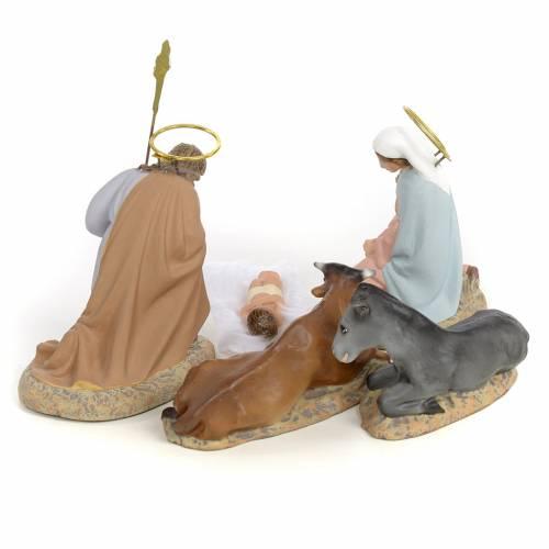 Nativity with 5 pieces, 40cm (fine decoration) s3
