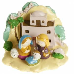 Nativity sets: Nativity with landscape