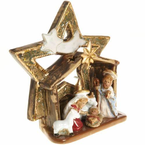 Nativity with star-shaped hut s2