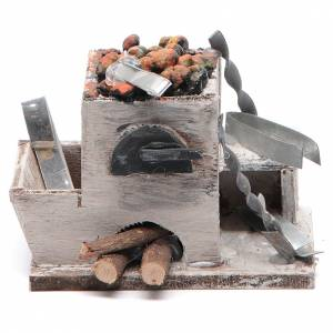 Neapolitan Nativity Scene: Neapolitan Nativity accessory: forge measuring 6x8.5x6cm