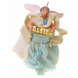 Neapolitan Nativity figurine, angel, 6 cm s1