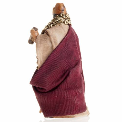 Neapolitan Nativity figurine, King Herod 8cm s2