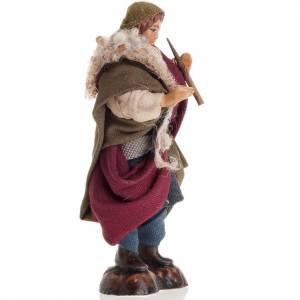 Neapolitan nativity figurine, piper 8cm s2