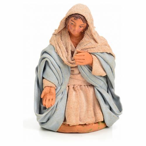 Neapolitan Nativity figurine, Virgin Mary, 10 cm s1