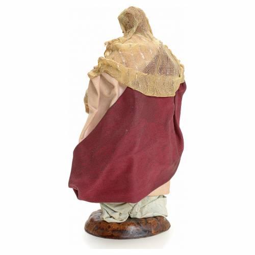 Neapolitan nativity figurine, Woman with fruit basket 18cm s3