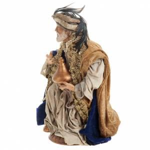 Neapolitan figurines, the Magi 30cm s7