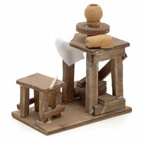 Neapolitan Nativity scene accessory, potter's wheel s3