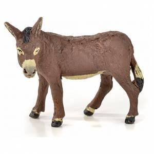 Neapolitan Nativity scene figurine, horse, donkey and buffalo 10 s5