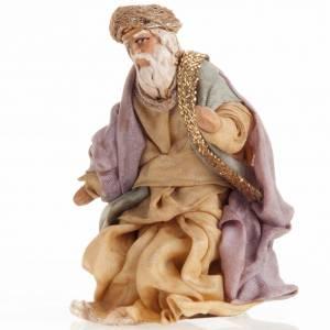 Neapolitan Nativity set, Magi 8cm s3