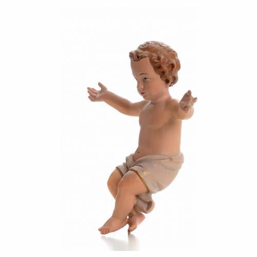 Niño Jesús madera val Gardena colorado s3