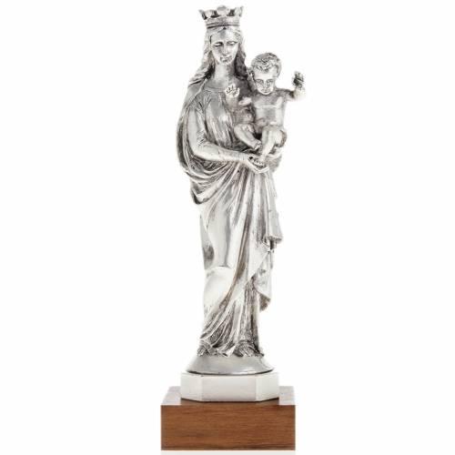Notre Dame de la Garde in metal-coloured resin 16cm s1