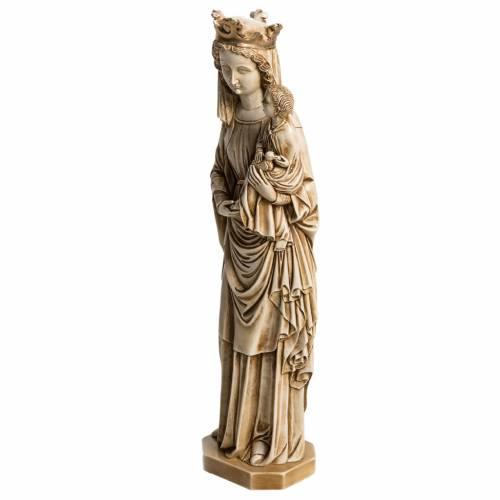 Notre Dame du Fiat 35 cm pierre ivoirine Bethléem s3