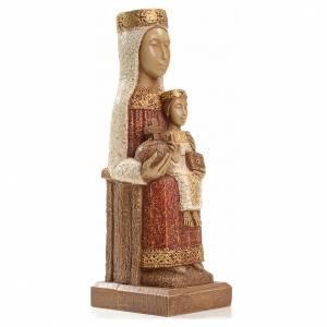 Notre Dame du Pilar 25 cm pierre peinte Bethléem s4