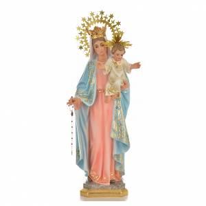 Notre-Dame du Rosaire 50 cm pâte à bois fin. supérieure s1