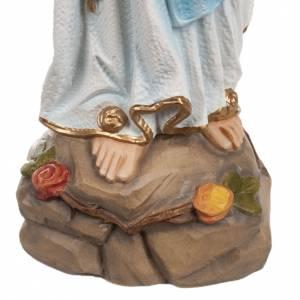 Nuestra Señora de Lourdes 50cm fibra de vidrio s3