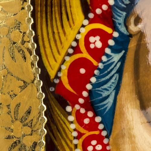 Oeuf icône Russie Vierge de Kazan s8